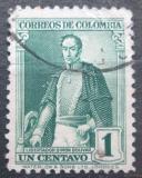 Poštovní známka Kolumbie 1937 Simón Bolívar Mi# 375