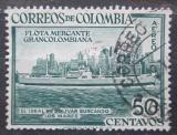 Poštovní známka Kolumbie 1955 Nákladní loď Ciudad de Manizales Mi# 731