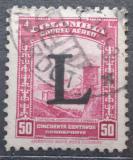 Poštovní známka Kolumbie 1950 Španělská pevnost přetisk Mi# 585