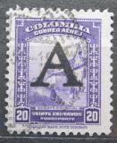 Poštovní známka Kolumbie 1950 Ulice v Bogotě přetisk Mi# 569