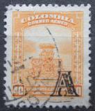 Poštovní známka Kolumbie 1951 El Dorado přetisk Mi# 614