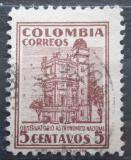 Poštovní známka Kolumbie 1946 Observatoř v Bogotě Mi# 491