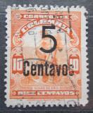 Poštovní známka Kolumbie 1944 Zlaté doly přetisk Mi# 451