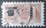 Poštovní známka Kolumbie 1953 Budova pošty v Bogotě přetisk Mi# 653