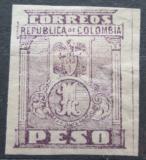 Poštovní známka Kolumbie 1902 Státní znak Mi# 153 B