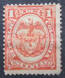 Poštovní známka Kolumbie 1892 Státní znak Mi# 107