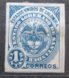 Poštovní známka Santander, Kolumbie 1884 Státní znak Mi# 1