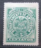 Poštovní známka Antioquia, Kolumbie 1896 Státní znak Mi# 87