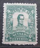 Poštovní známka Antioquia, Kolumbie 1899 Generál José María Córdova Mi# 118