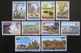 Poštovní známky Rwanda 1965 Národní park Kagera Mi# 104-13 Kat 15€