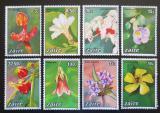 Poštovní známky Kongo Dem., Zair 1984 Květiny Mi# 853-60 Kat 20€