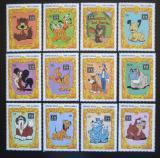 Poštovní známky Sierra Leone 1997 Disney postavičky Mi# 2926-33 Kat 16€