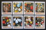 Poštovní známky Manáma 1971 Umění, Jan Bruegel, vánoce Mi# 361-68
