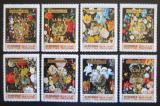 Poštovní známky Manáma 1971 Umění, Jan Bruegel, přetisk OSN Mi# 625-32