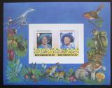 Poštovní známky Montserrat 1986 Královna Matka Mi# Block 31
