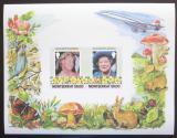 Poštovní známky Montserrat 1986 Královna Matka Mi# Block 32 Kat 8€