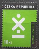 Poštovní známka Česká republika 2011 Sčítání lidu Mi# 665
