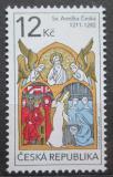 Poštovní známka Česká republika 2011 Svatá Anežka česká Mi# 667