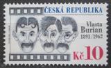 Poštovní známka Česká republika 2011 Vlasta Burian Mi# 677