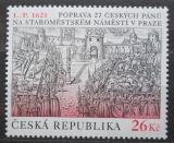 Poštovní známka Česká republika 2011 Poprava 27 českých pánů, 390. výročí Mi# 685
