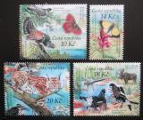 Poštovní známky Česká republika 2011 Ochrana přírody - Šumava Mi# 690-93