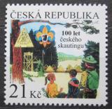 Poštovní známka Česká republika 2012 Skauting v Čechách, 100. výročí Mi# 717