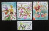 Poštovní známky Česká republika 2012 Orchideje Mi# 729-32