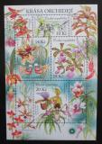 Poštovní známky Česká republika 2012 Orchideje Mi# Block 47