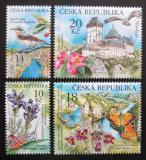 Poštovní známky Česká republika 2013 Ochrana přírody - Karlštejnsko Mi# 773-76