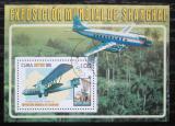 Poštovní známka Kuba 2010 Letadla Mi# Block 276