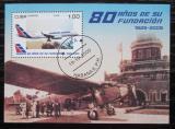 Poštovní známka Kuba 2009 Letadla Mi# Block 267