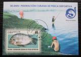 Poštovní známka Kuba 2009 Sportovní rybolov Mi# Block 270