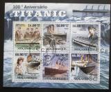Poštovní známky Mosambik 2011 Potopení Titaniku, 100. výročí Mi# 5260-65 Kat 23€