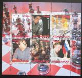 Poštovní známky Azerbajdžán 2008 Šachy a šachoví mistři