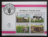 Poštovní známky Tanzánie 1982 Mezinárodní den potravin Mi# Block 30