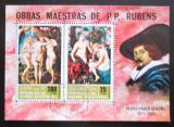 Poštovní známky Rovníková Guinea 1973 Akty, Peter Paul Rubens Mi# Block 78