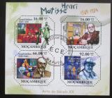 Poštovní známky Mosambik 2012 Umění, Henri Matisse Mi# 4682-85 Kat 11€