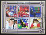 Poštovní známky Mosambik 2001 Umění, Henri Matisse Mi# 2109-14 Kat 11€