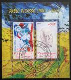 Poštovní známky Kongo 2010 Umění, Pablo Picasso Mi# N/N