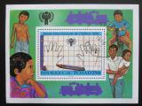 Poštovní známka Čad 1979 Mezinárodní rok dětí Mi# Block 76