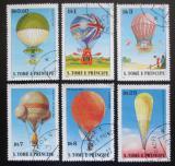 Poštovní známky Svatý Tomáš 1979 Létající balóny Mi# 619-24 Kat 13€