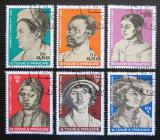 Poštovní známky Svatý Tomáš 1979 Umění, Albrecht Dürer Mi# 585-90 Kat 15€