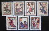 Poštovní známky Paraguay 1984 Minnesängři Mi# 3738-44 Kat 8€