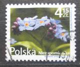 Poštovní známka Polsko 2010 Pomněnka rolní Mi# 4489 Kat 3.40€
