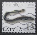 Poštovní známka Lotyšsko 2005 Mihule říční Mi# 639