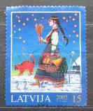 Poštovní známka Lotyšsko 2005 Vánoce Mi# 651