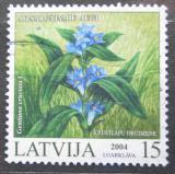 Poštovní známka Lotyšsko 2004 Hořec křížatý Mi# 608