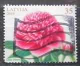 Poštovní známka Lotyšsko 2010 Pivoňka Mi# 782