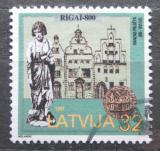 Poštovní známka Lotyšsko 1997 Riga, 800. výročí Mi# 470