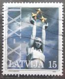 Poštovní známka Lotyšsko 2000 Socha svobody, Riga Mi# 529